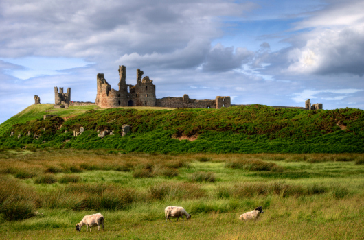 Dunstanburgh Castle, Craster, Northumberland